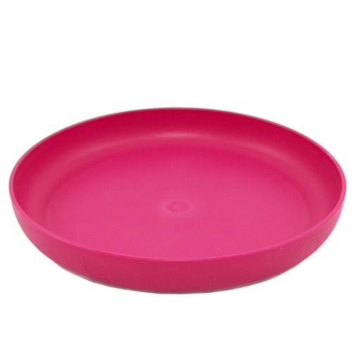 ajaa! Bunte Teller aus Biokunststoff, Pink