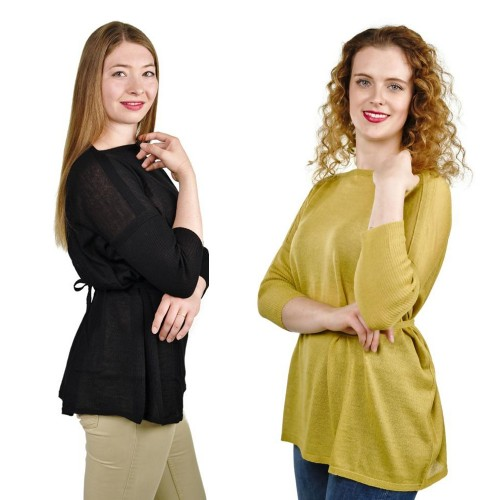 Pullover Sinthia 100% Baby Alpaka für Damen | AlpacaOne