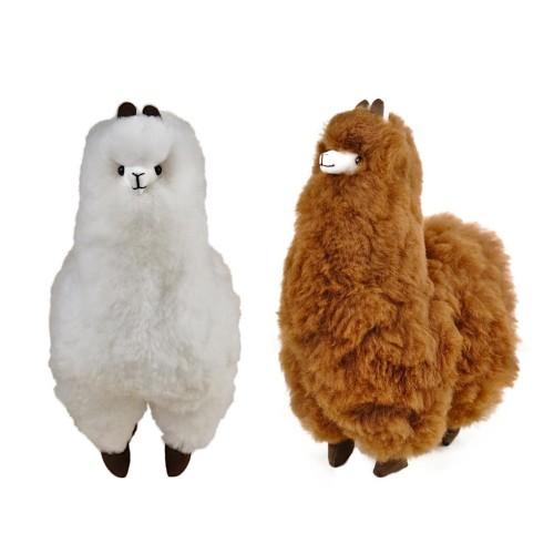 Alpaka Flauschi 100% Baby Alpaka Deko-Figur | AlpacaOne