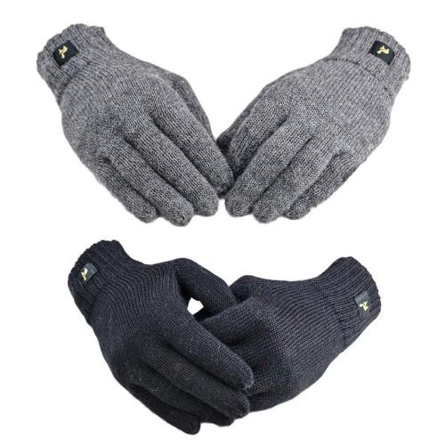 "Unisex Fingerhandschuhe ""Nevada"" aus Alpakawolle | AlpacaOne"