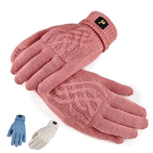 Handschuhe Sara aus 100% Alpaka, one size, Damen | AlpacaOne