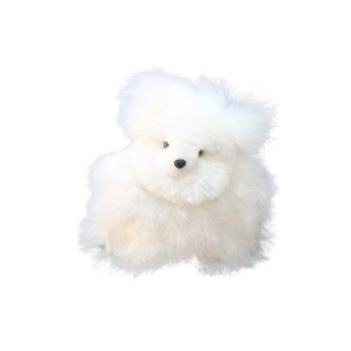 Mini Teddybär Kuschel - 100% Baby Alpaka Fell | AlpacaOne