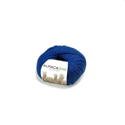 Alpacaone Baby Alpaka Wolle Knäuel 50g petrolblau OEKO-TEX