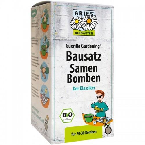 Aries Samenbomben Bausatz Guerilla Gardening®