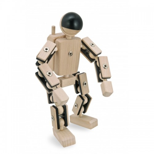 Helden aus Holz: Astronaut – Holzspielzeug