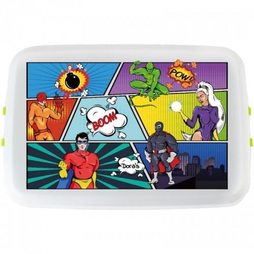 Brotdose »Comic« Lunchbox aus Biokunststoff | Biodora