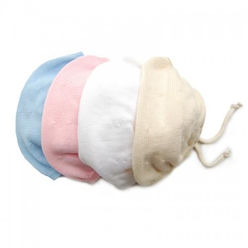 Bio Baby-Mütze ohne Naht – Bio-Baumwolle | Sonnenstrick