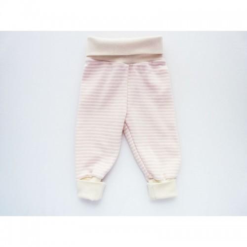 Babypumphose Baby Mitwachshose Rosa Ringel | Ulalue