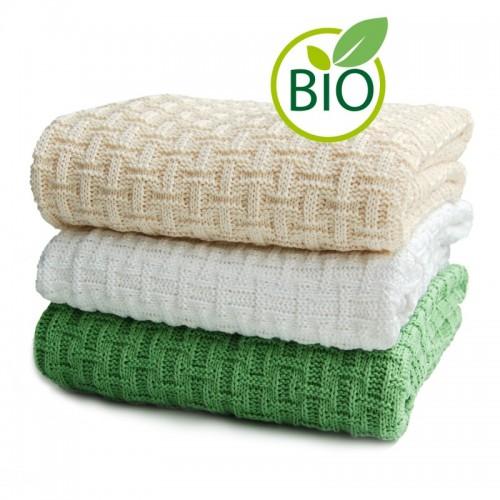 Babydecke Karostrick – Bio-Baumwolle | Sonnenstrick