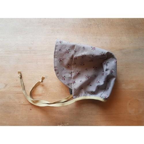 Erstlingsmütze Holunder - pflanzengefärbte Bio-Baumwolle   Ulalü
