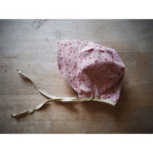 Erstlingsmütze Krapp - pflanzengefärbte Bio-Baumwolle   Ulalü