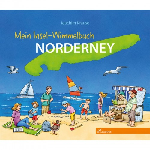 Insel-Wimmelbuch Norderney | Willegoos Verlag
