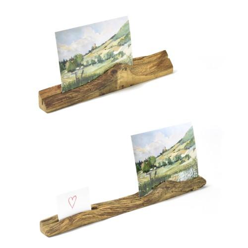 Upcycling Bilderständer aus Eichenholz