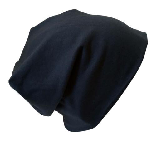 "Bio Jersey Mütze ""Line"" Uni Dunkelblau | bingabonga"