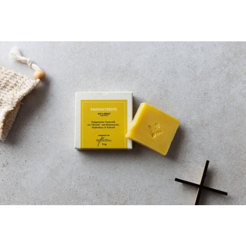 Toff & Zürpel Bio-Naturseife für Bienenwachstuch