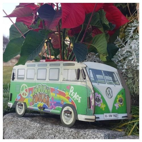 Öko Blumenkasten VW T1 Hippies | Werkhaus