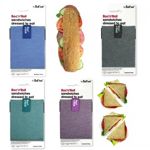 Boc´n Roll Eco Lunch Tasche Baumwolle | Roll'eat
