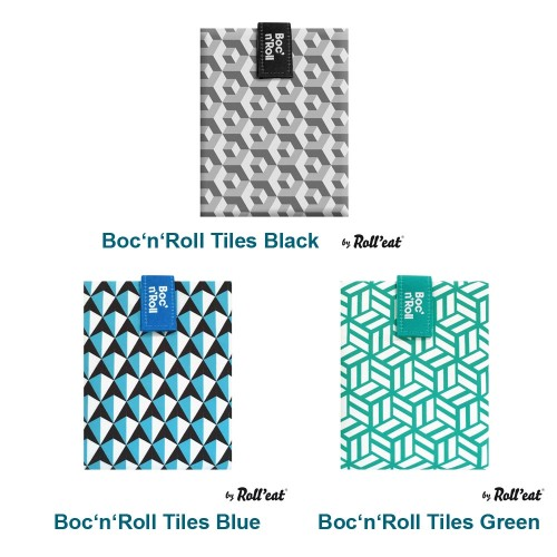 Boc´n Roll Tiles Öko Sandwichtasche | Roll'eat