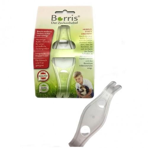 Borris Zeckenhebel aus Recycling-Kunststoff