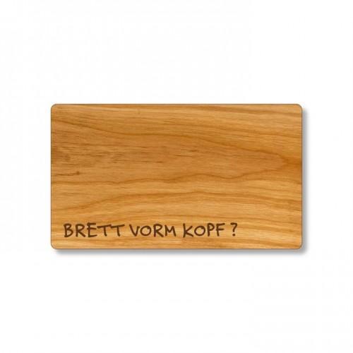 Brett vorm Kopf Frühstücksbrett aus Kirschholz   Echtholz