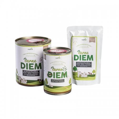 Bio Hundefutter Nassfutter Carne Diem mit Bio-Rind