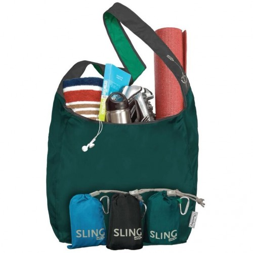 Recycling Messenger Bag: ChicoBag Sling rePETe