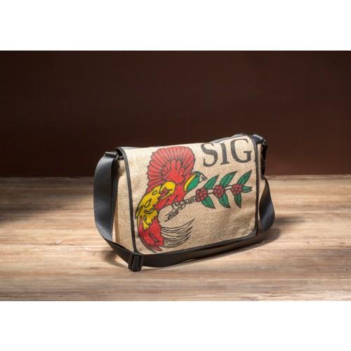 "Messenger Bag aus Kaffeesack Modell ""Papagayo"""