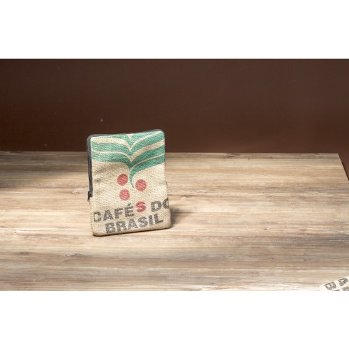 "Tablet Sleeve 10"" aus Kaffeesack 