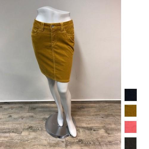 bloomers Klassik Cordrock aus Bio-Baumwolle, 5 Pocket Style