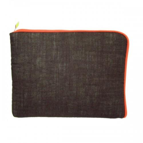 Öko Tasche für Tablet, eBook-Reader aus Leinen
