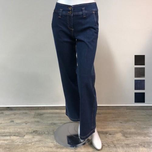 bloomers Schlagjeans - Patch Jeans aus GOTS Bio-Baumwolle