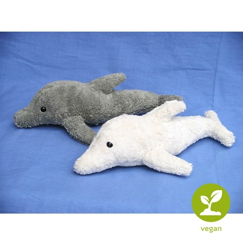 Delphin, Kallisto Stofftier VEGAN aus Bio-Baumwolle