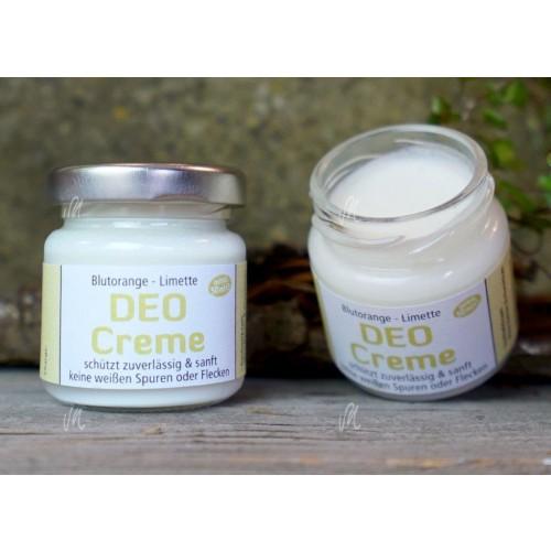 Vegane Deo-Creme Blutorange-Limette   Die Kräutermagie