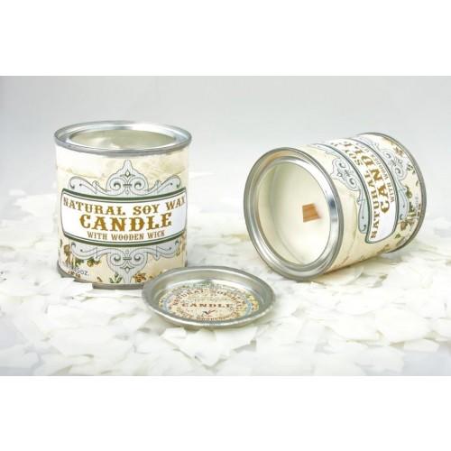 Designer Sojawachskerze Retro, mit & ohne Duft | Candles.lv