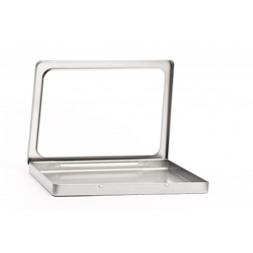 DIN A5 View Metalldose mit Sichtfenster | Tindobo