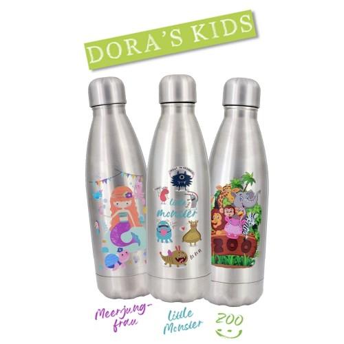 Dora's KIDS Edelstahl Thermoflasche - Mehrwegflasche