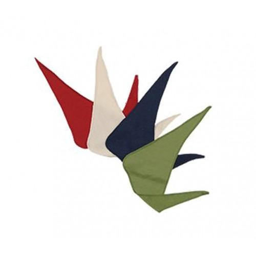 Dreieckstuch Raupe aus kbt Wolle/Seide von Reiff