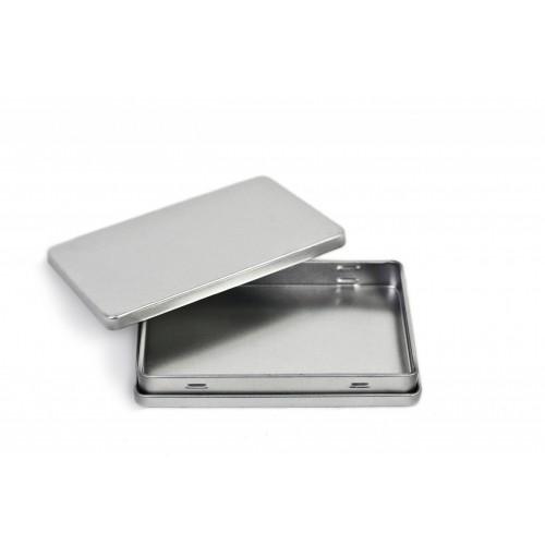 Visitenkartendose aus Weißblech - recycelbar | Tindobo