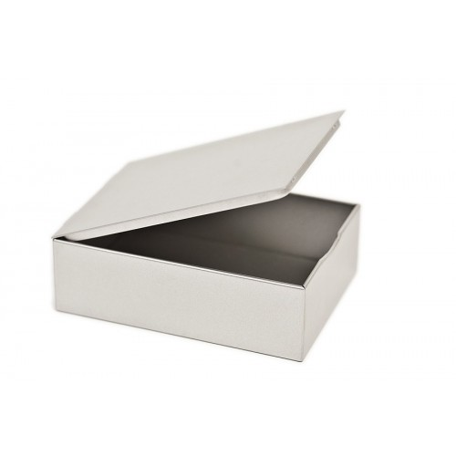 Öko Blechdose mit Klappdeckel - Aufbewahrungsbox | Tindobo