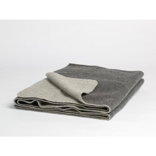 Wolldecke Dark Grey/Light Grey