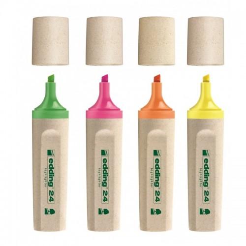 Bio Textmarker 24 Highlighter | edding EcoLine