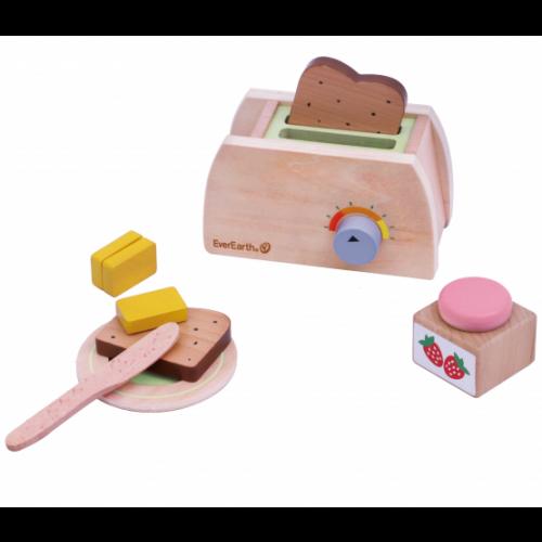 EverEarth Kleines Frühstück - Spielzeug-Set aus FSC Holz