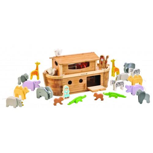 Holzspielzeug Große Arche Noah aus FSC® Holz   EverEarth