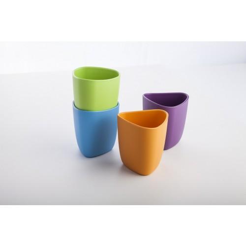 eKuà – 2 Becher aus Bioplastik für Kinder | ekoala