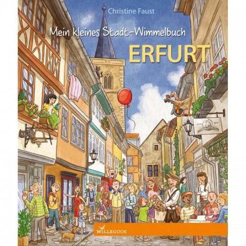 Willegoos Mein kleines Stadt-Wimmelbuch Erfurt - Öko Bilderbuch