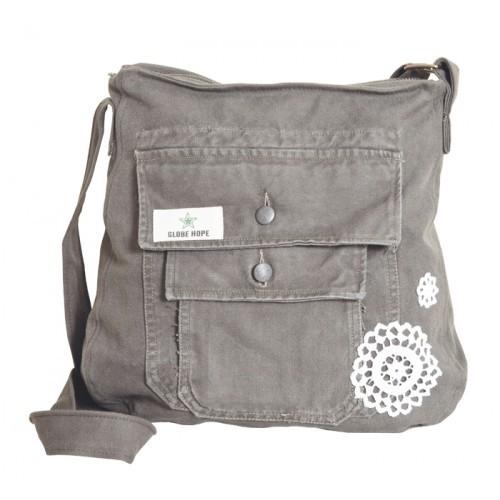 Umhängetasche ESIKKO - Upcycling-Tasche | Globe Hope
