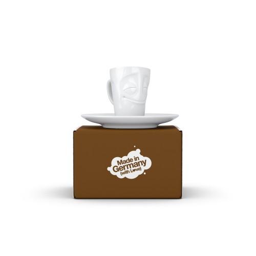 Espresso Mug mit Henkel - Vergnügt | 58Products