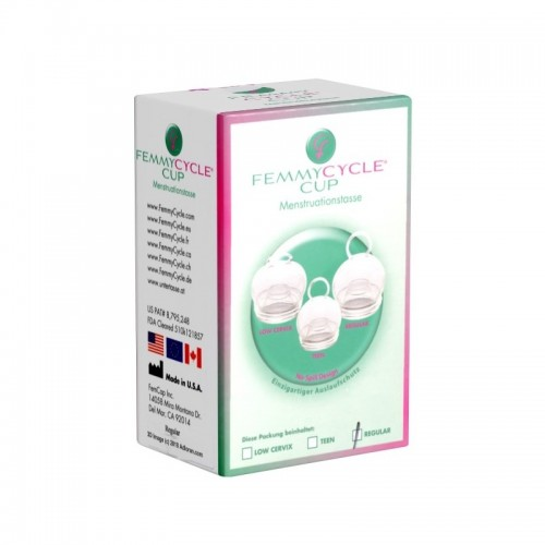 Regular Menstruationstasse mit Auslaufschutz | FemmyCycle