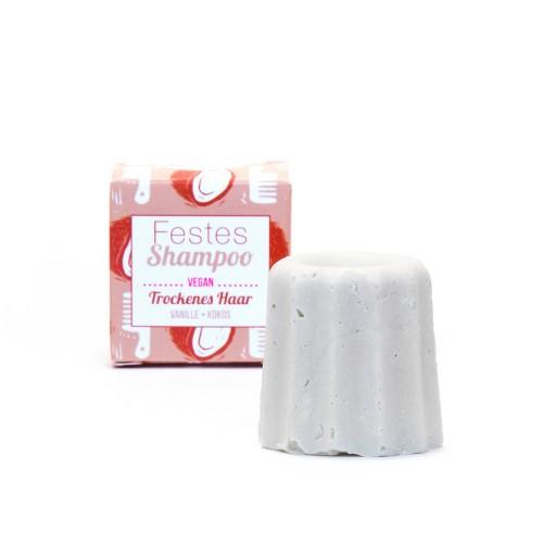Festes Shampoo Vanille-Kokos für trockenes Haar | Lamazuna