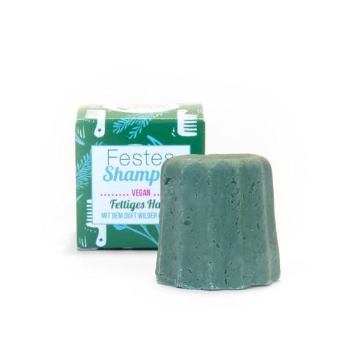 Lamazuna festes Shampoo Wildräuter für fettiges Haar